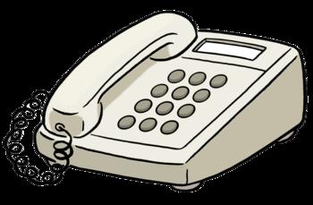 Piktogramm von einem Telefon